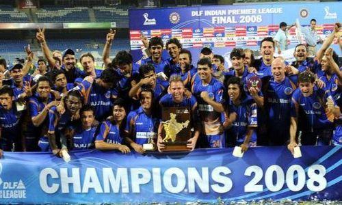 Winner of IPL 2008
