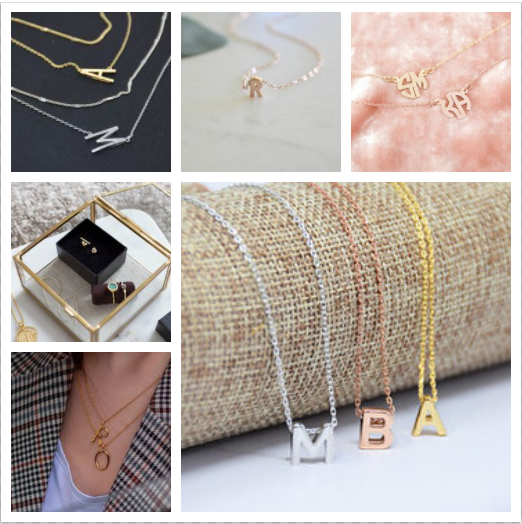 Curated Monogram Necklace