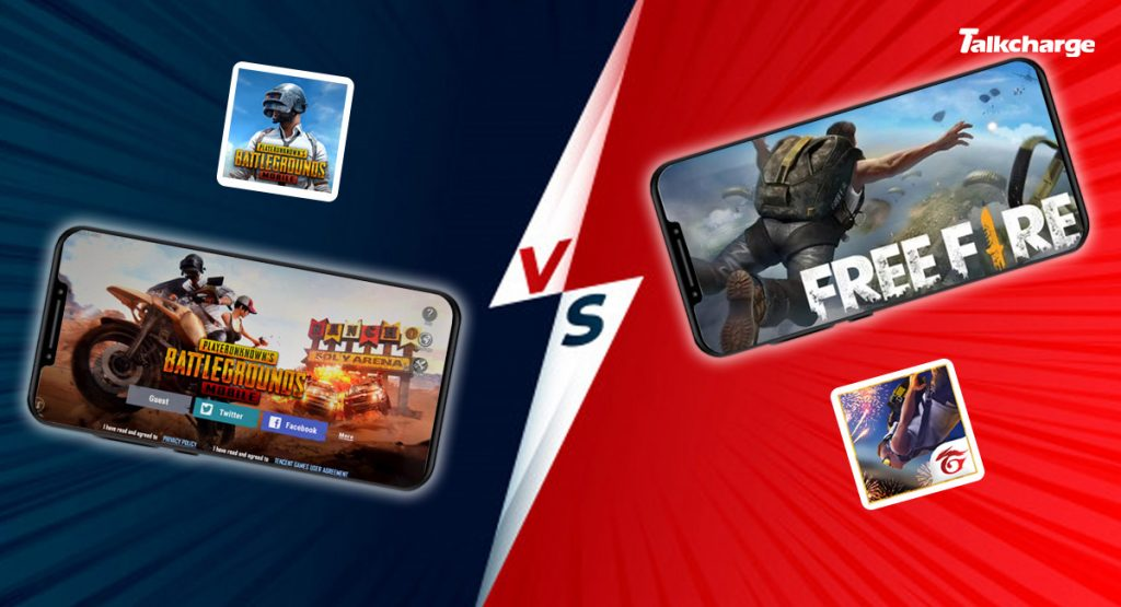 Garena Free Fire vs PUBG Mobile: App Size and Downloads
