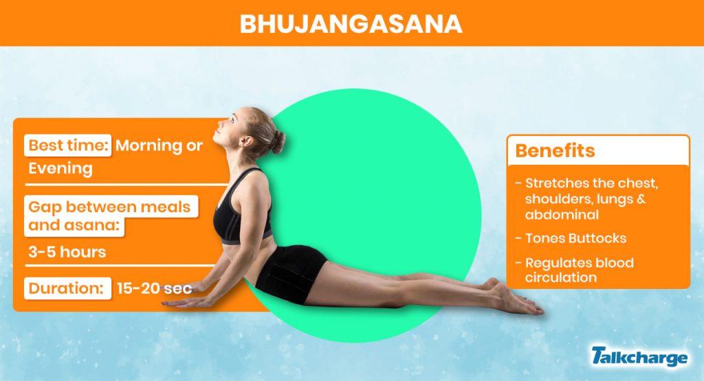 Bhujangasana for Gaining Weight