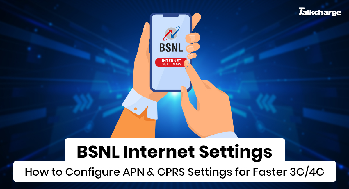 BSNL Internet Settings