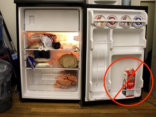 Don't Keep Milk on the Door Shelf