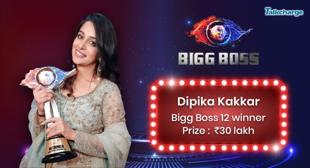Bigg Boss Season 12 Winner