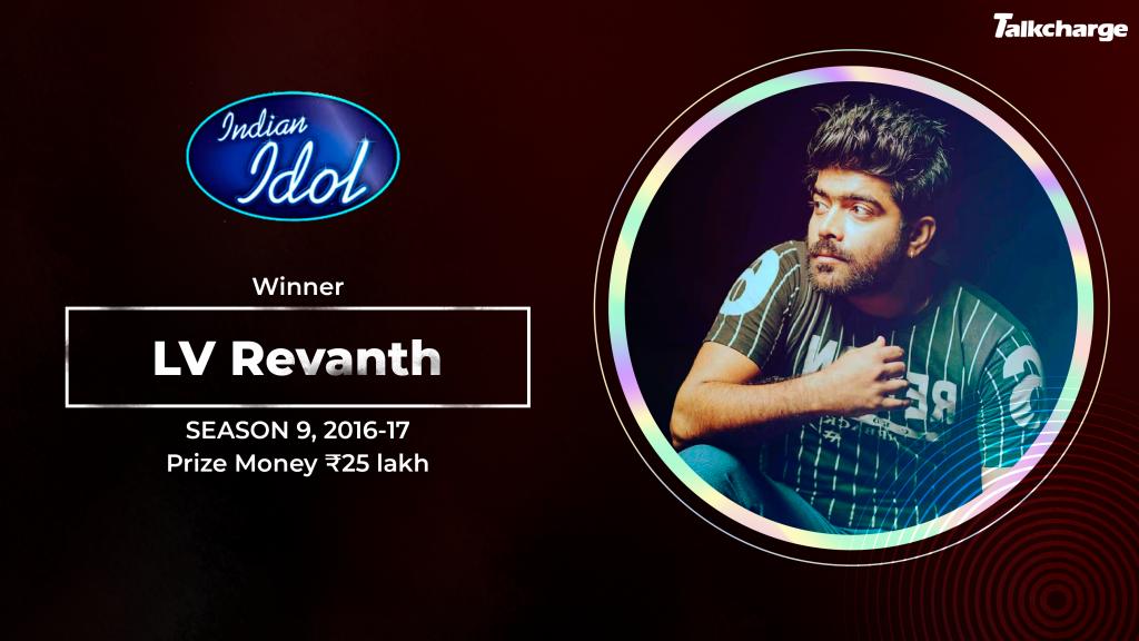 LV Revanth Winner Season 9