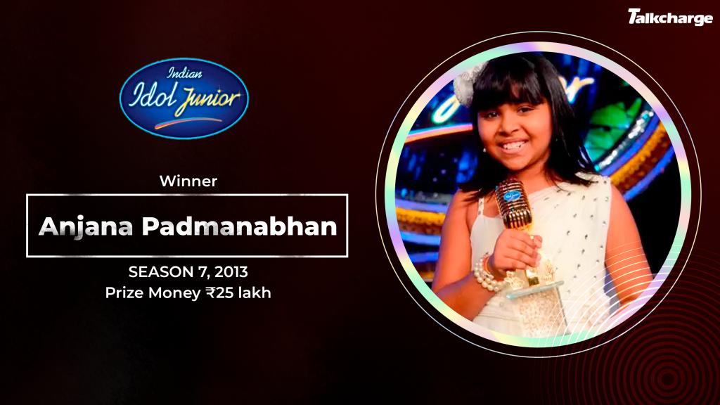 Anjana Padmanabhan Indian Idol