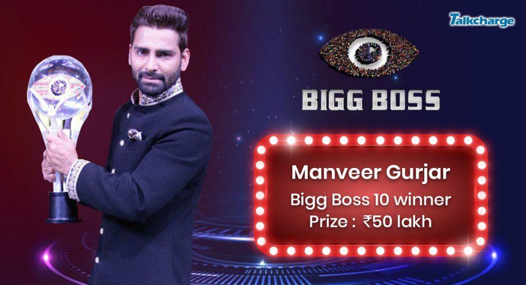 Bigg Boss Season 10 Winner