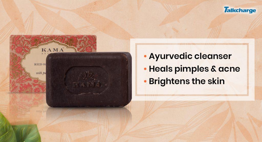 Kama Ayurveda Red Sandalwood Soap