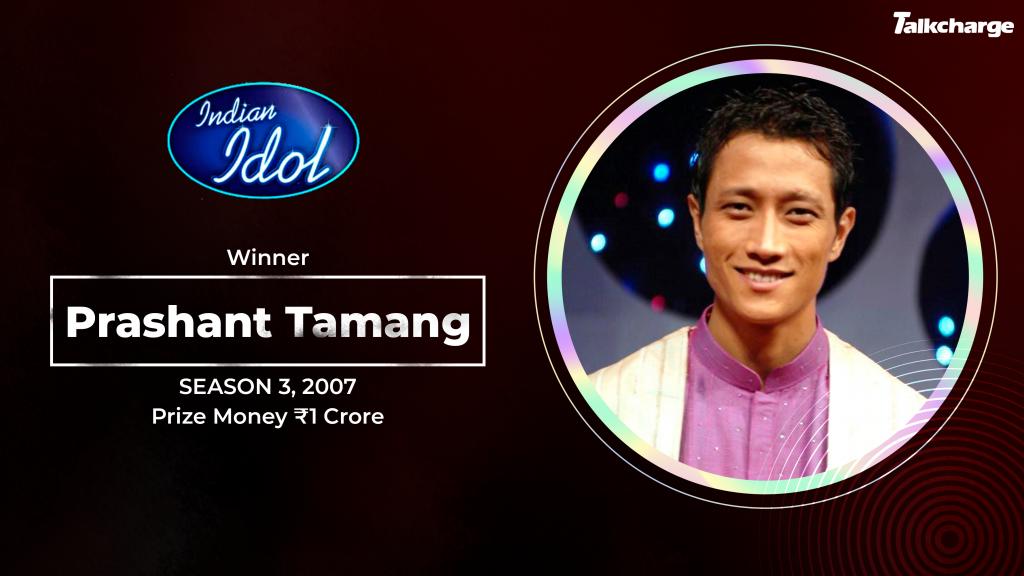 Prashant Taman Season 3 Winner