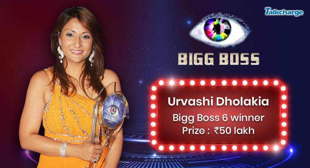 Bigg Boss Season 6 Winner