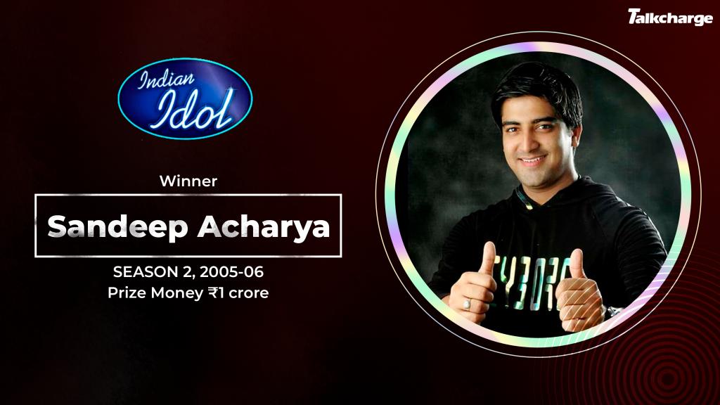 Sandeep Acharya Indian Idol