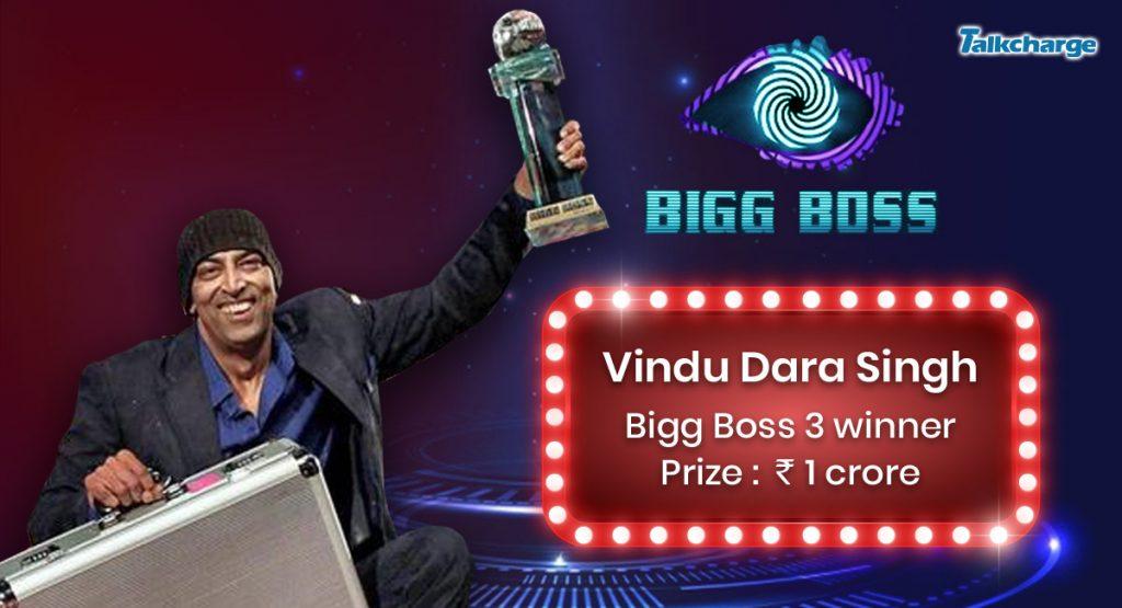 Bigg Boss 3 Winner