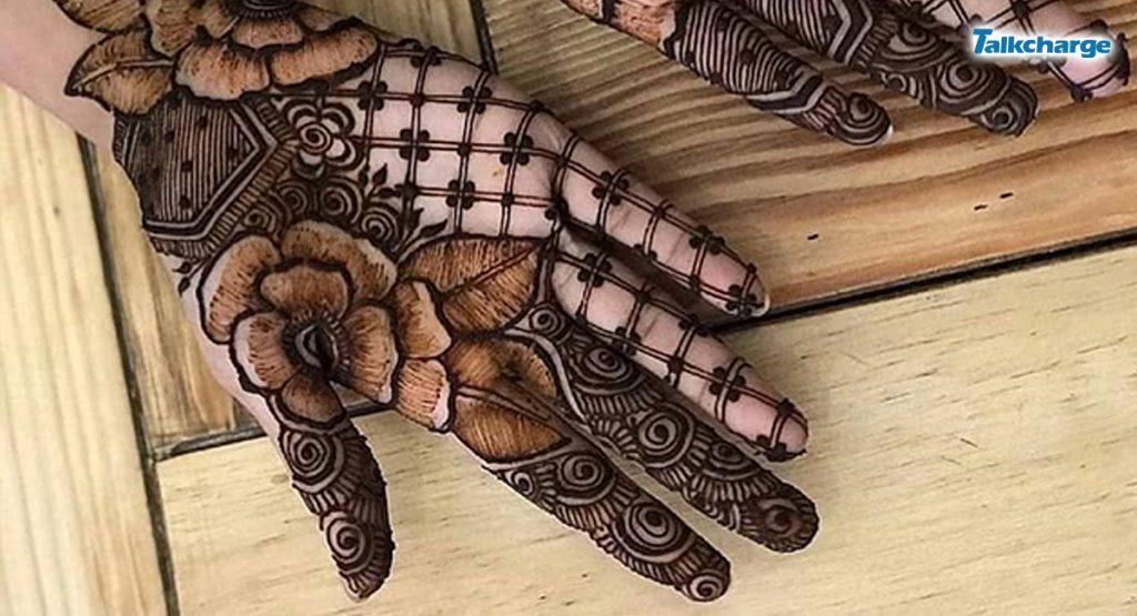 Rose Mehndi Design