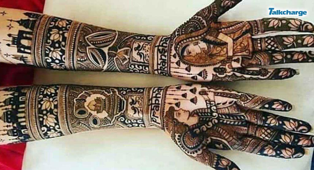 Personalised Mehndi Design