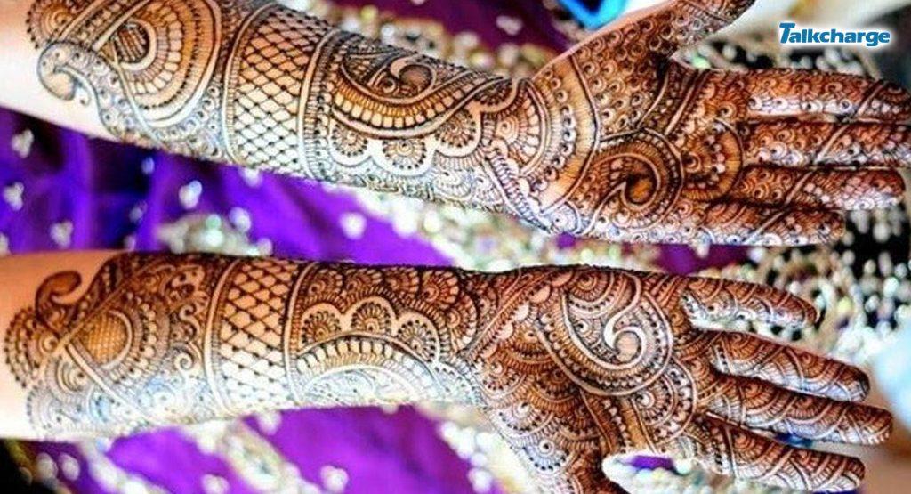 Classic Bridal Mehndi Design