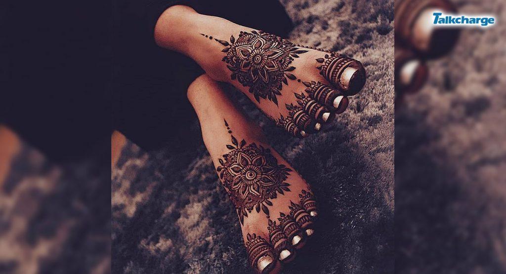Mandala Mehdi Design for Foot