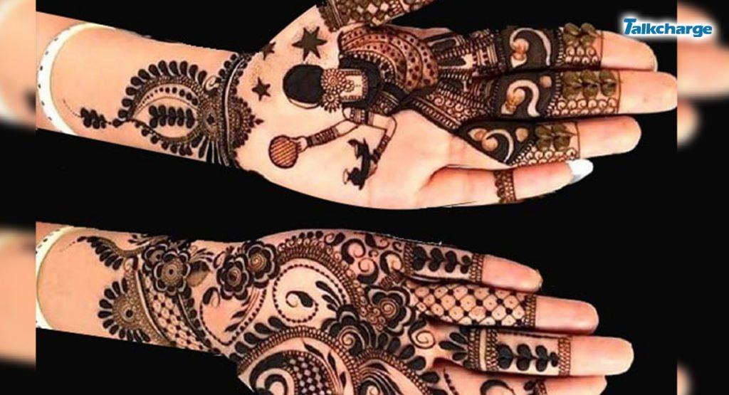 Karwa Chauth Theme: easy mehendi designs