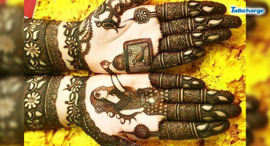 Birds and Cages: easy mehendi designs