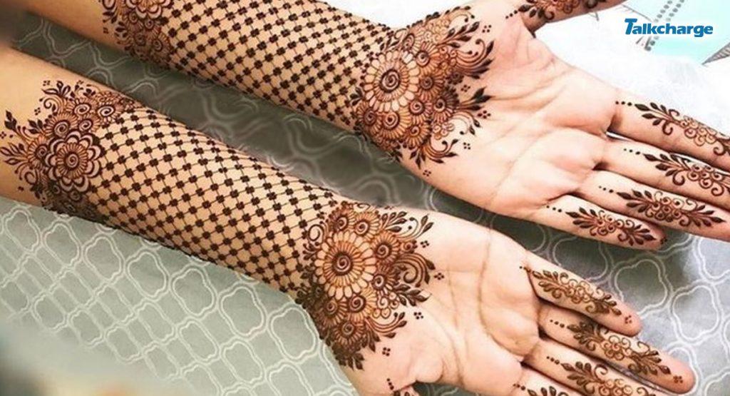 Jaali Arabic Mehndi Design