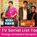 Zee TV Serial List 2021: Timings, Schedule & Synopsis