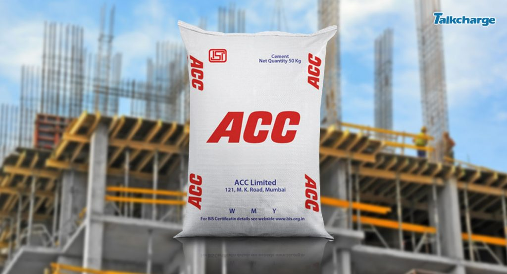 ACC Cement company in India