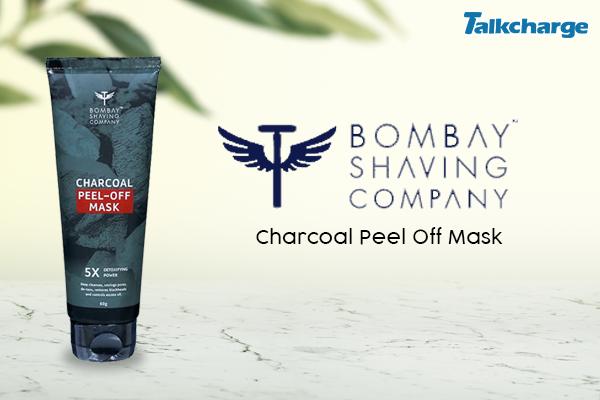 Bombay Shaving Company Charcoal Peel Off Mask