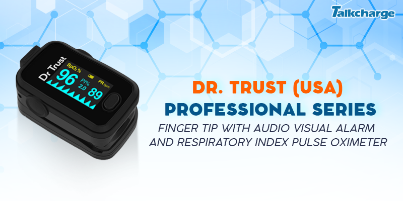 Dr Trust (USA) Professional Series Finger Tip Pulse Oximeter