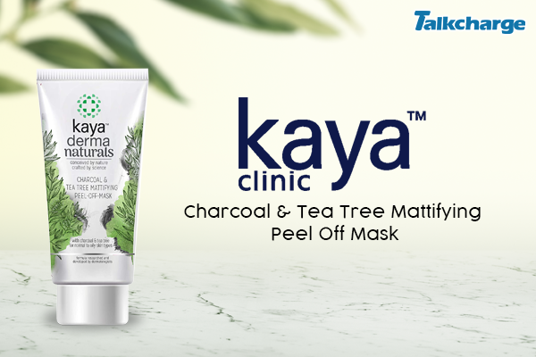 Kaya Charcoal & Tea Tree Mattifying Peel Off Mask