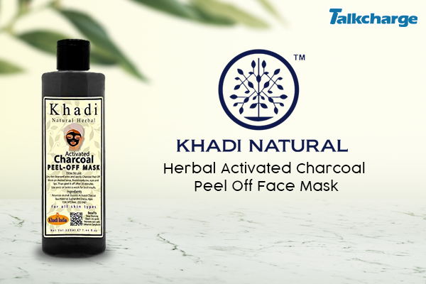 Khadi Natural Herbal Activated Charcoal Peel Off Face Mask