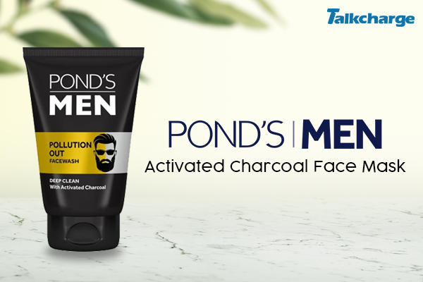 Ponds Men Activated Charcoal Face Mask