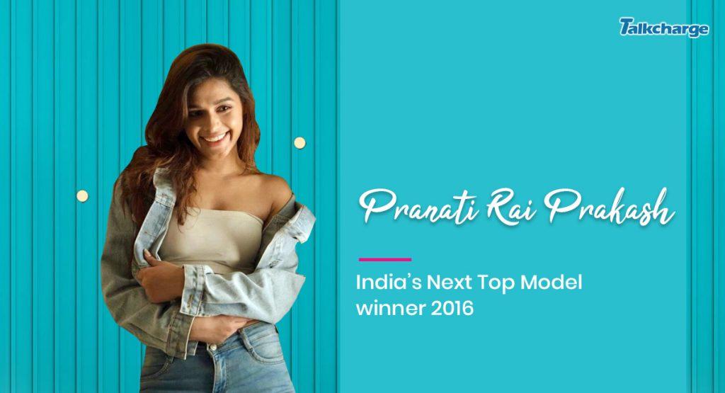 Pranati Rai Prakash - India's Next Top Model winner 2016
