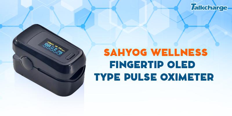 Sahyog Wellness Fingertip OLED Type Pulse Oximeter