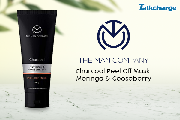 The Man Company Charcoal Peel Off Mask Moringa & Gooseberry