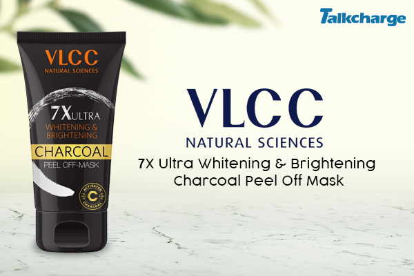 VLCC 7X Ultra Whitening & Brightening Charcoal Peel Off Mask