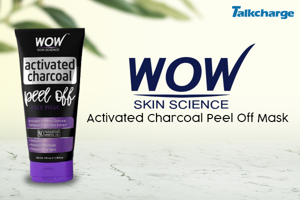 WOW Skin Science Activated Charcoal Peel Off Mask