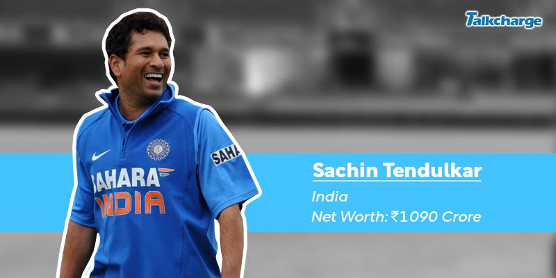 Sachin Tendulkar - Richest cricketer in the World