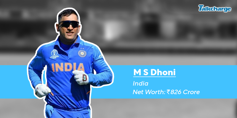 MS Dhoni - Richest cricketer in the World