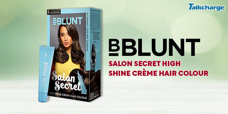 BBLUNT Salon Secret High Shine Crème Hair Colour