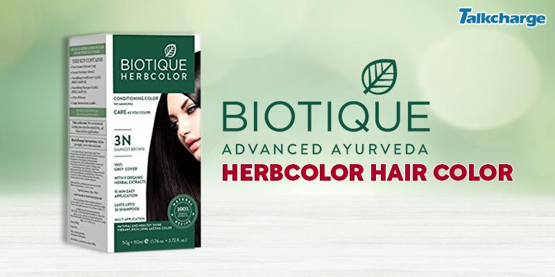 Biotique Herbcolor Hair Color