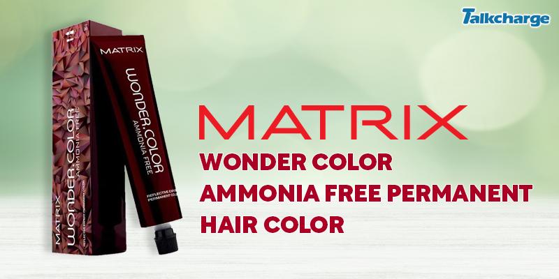 Matrix Wonder Color Ammonia Free Permanent Hair Color
