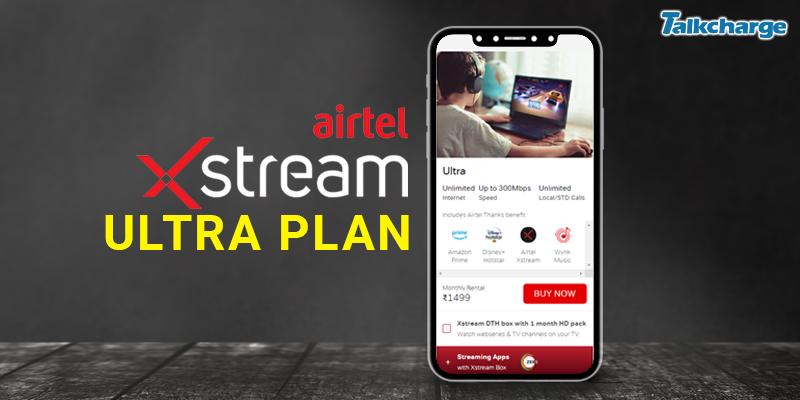 Ultra Airtel Broadband Plans