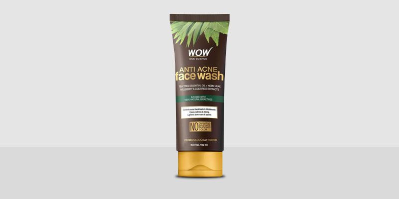 Wow Skin Anti-Acne Face Wash
