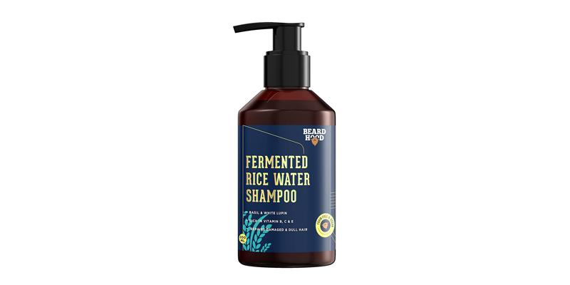beardhood fermented rice water shampoo