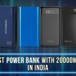 Best Power Banks with 20000mAh in India 2021