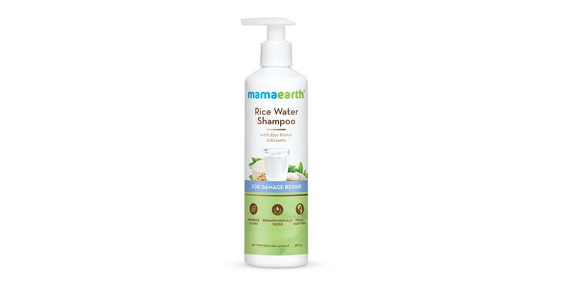 mamaearth rice water shampoo