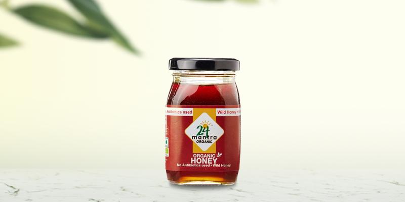 24 Mantra Organic Wild Honey