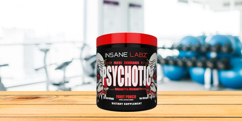 Insane Labz Psychotic Infused Pre Workout Powerhouse