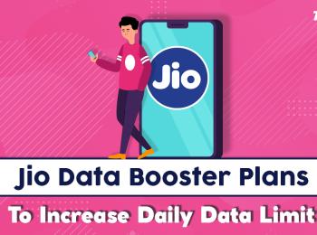 Jio Data Booster Plans