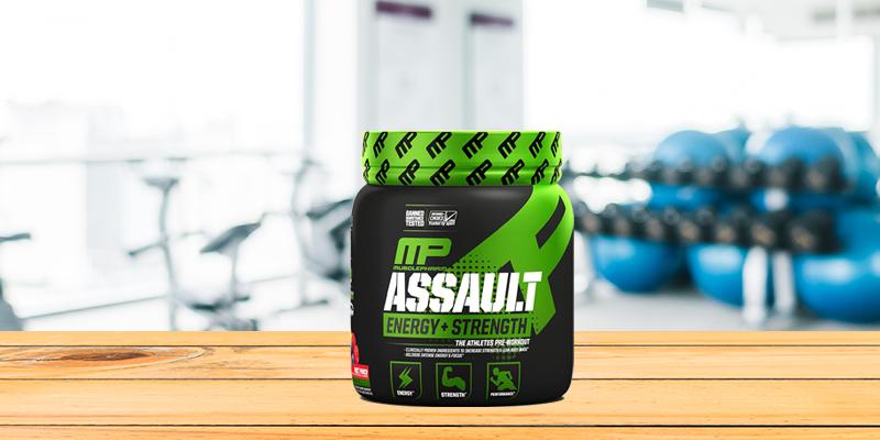 MusclePharm Assault Sport Pre Workout Powder