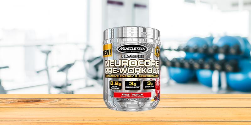 Muscletech Neurocore Pre Workout 222g Fruit Punch