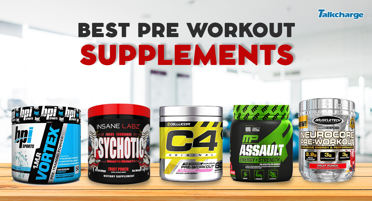 Pre workout supplements